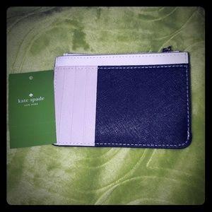Kate Spade mini wallet/card holder